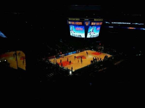 Madison Square Garden, Abschnitt: 220, Reihe: 13, Platz: 20