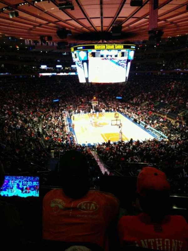 Madison Square Garden, Abschnitt: 217, Reihe: 3, Platz: 3
