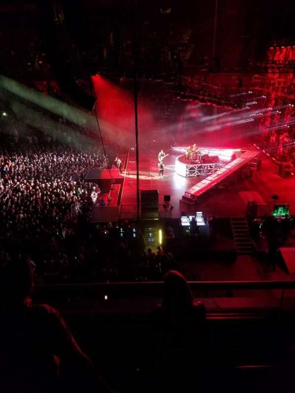 Mohegan Sun Arena, Abschnitt: 105, Reihe: C, Platz: 6