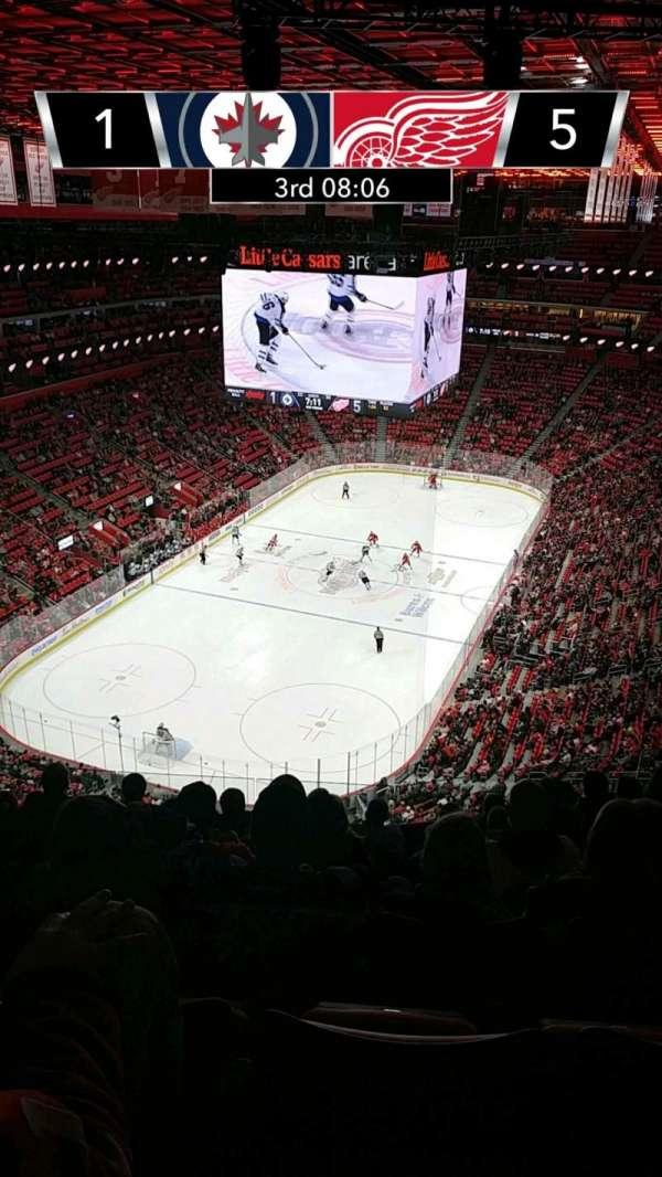 Little Caesars Arena, Abschnitt: 217, Reihe: 8, Platz: 15
