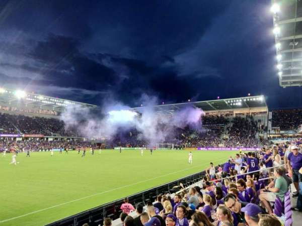 Orlando City Stadium, Abschnitt: 36, Reihe: F, Platz: 21