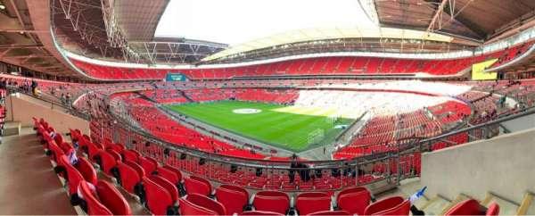 Wembley Stadium, Abschnitt: 220, Reihe: 11, Platz: 160