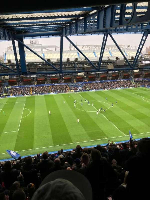 Stamford Bridge, Abschnitt: West Stand Upper, Reihe: 19, Platz: 168