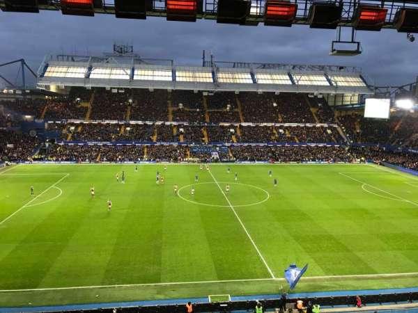 Stamford Bridge, Abschnitt: West Stand Upper 5, Reihe: 2, Platz: 134