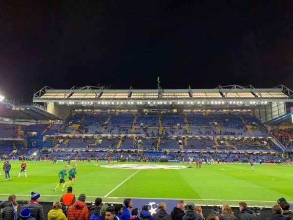 Stamford Bridge, Abschnitt: West Stand Lower 4, Reihe: 7, Platz: 101