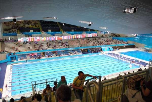 London Aquatics Centre, Abschnitt: 313, Reihe: 21, Platz: 162