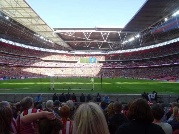 Wembley Stadium, Abschnitt: 133, Reihe: 9, Platz: 314