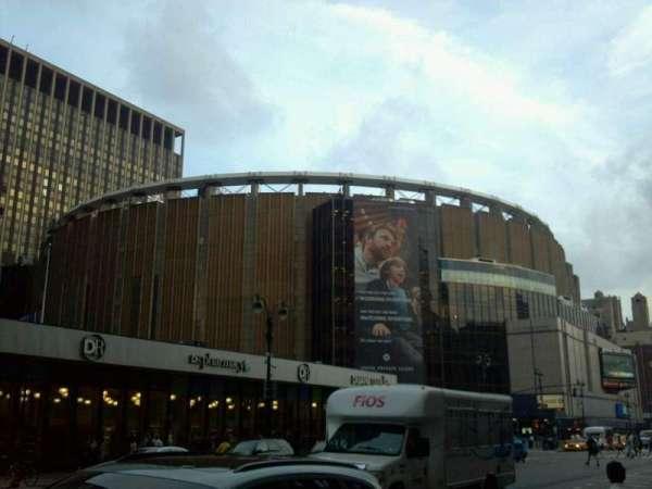 Madison Square Garden Abschnitt Outside Heimat Von New York