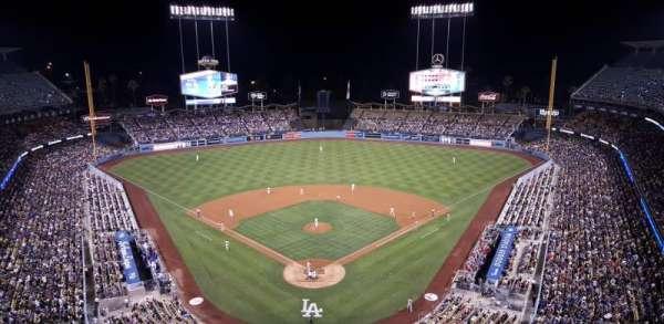 Dodger Stadium, Abschnitt: 1TD, Reihe: A, Platz: 4