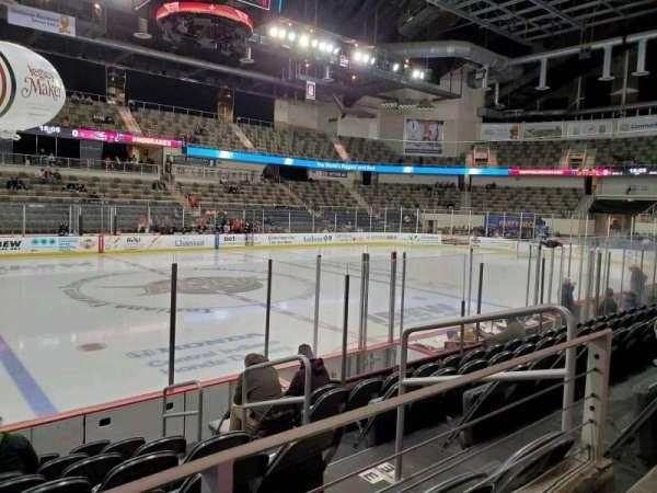 Indiana Farmers Coliseum, Abschnitt: 201, Reihe: A, Platz: 4