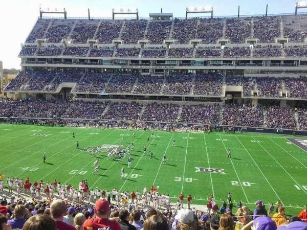 Amon G. Carter Stadium, Abschnitt: 233, Reihe: Q