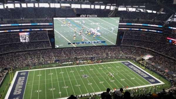 AT&T Stadium, Abschnitt: 415, Reihe: 29, Platz: 2