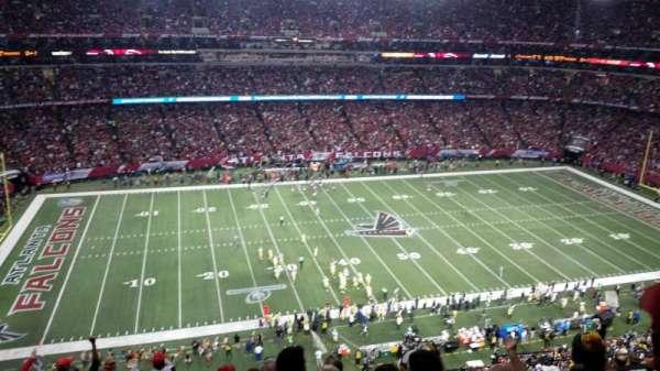 Georgia Dome, Abschnitt: 350, Reihe: 11, Platz: 14