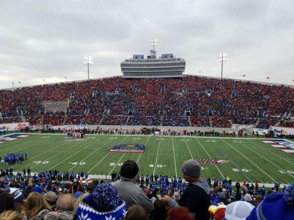 Liberty Bowl Memorial Stadium, Abschnitt: 119, Reihe: 50, Platz: 27
