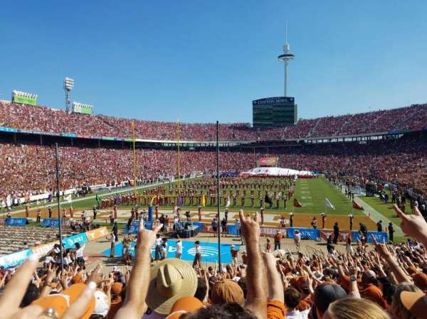 Cotton Bowl, Abschnitt: 14, Reihe: 26, Platz: 6