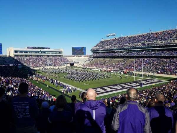 Bill Snyder Family Stadium, Abschnitt: 11, Reihe: 46, Platz: 1