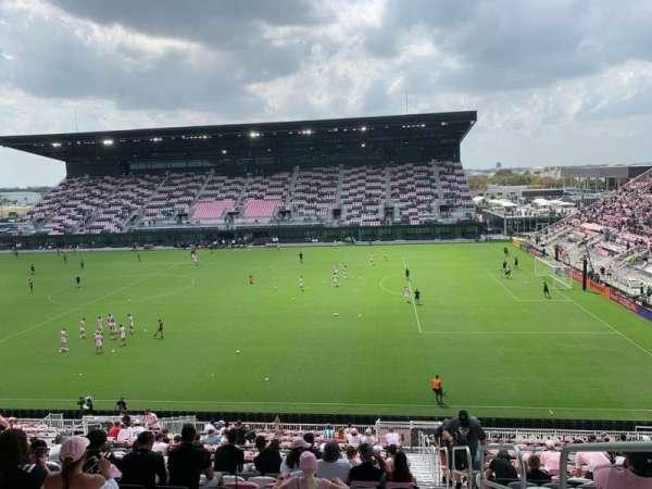 DRV PNK Stadium, Bereich: 114, Reihe: 29, Platz: 1