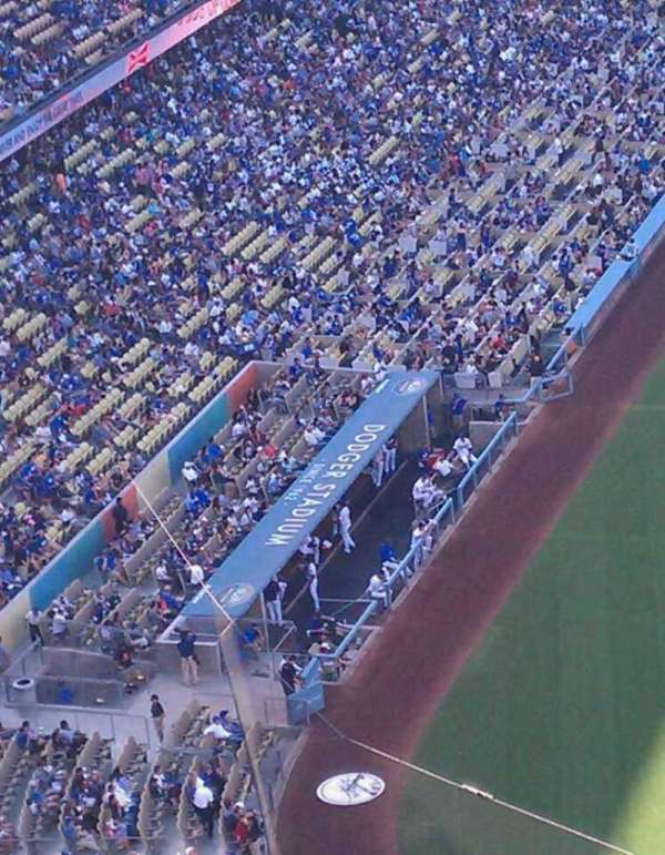 Dodger Stadium, Abschnitt: 8, Reihe: h, Platz: 16