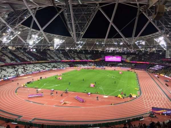 London Stadium, Abschnitt: 253, Reihe: 56, Platz: 789