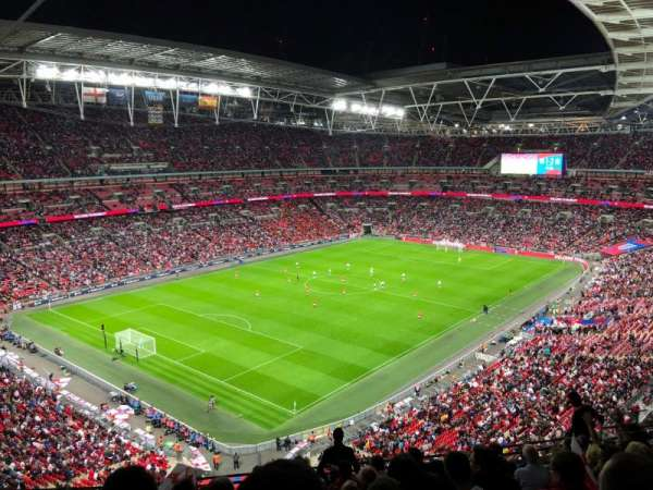 Wembley Stadium, Abschnitt: 508, Reihe: 11, Platz: 221