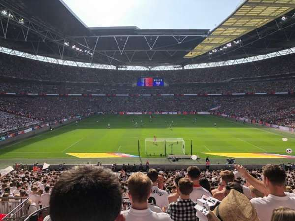 Wembley Stadium, Abschnitt: 112, Reihe: 38, Platz: 8