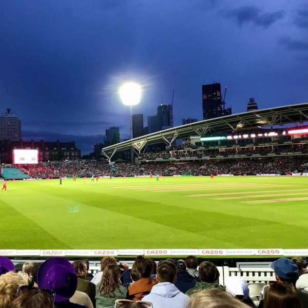 Kia Oval, Bereich: Galadari Stand 24, Reihe: 11, Platz: 113