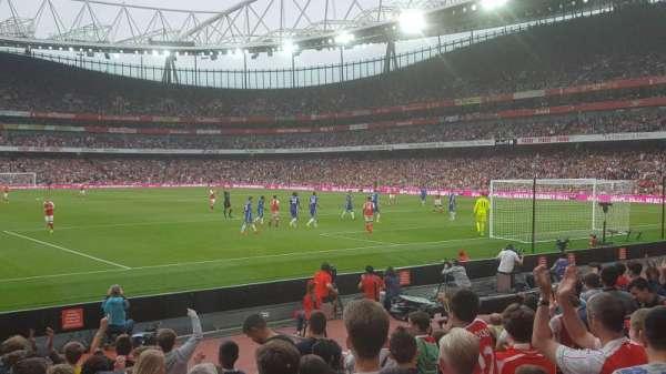 Emirates Stadium, Abschnitt: 26, Reihe: 11, Platz: 821