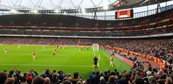 Emirates Stadium, Bereich: 29, Reihe: 15, Platz: 918