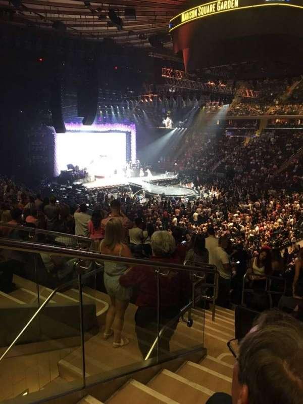 Madison Square Garden, Abschnitt: 119, Reihe: 22, Platz: 7