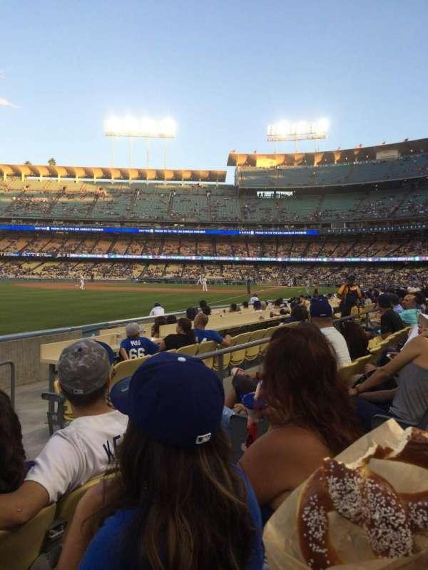 Dodger Stadium, Abschnitt: 47FD, Reihe: C, Platz: 4