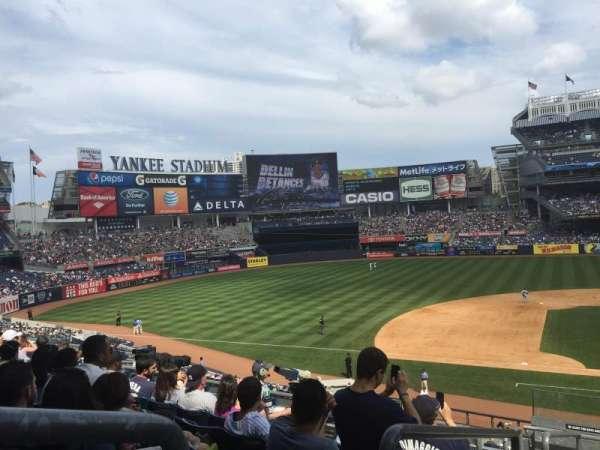 Yankee Stadium, Abschnitt: 224, Reihe: 8, Platz: 20