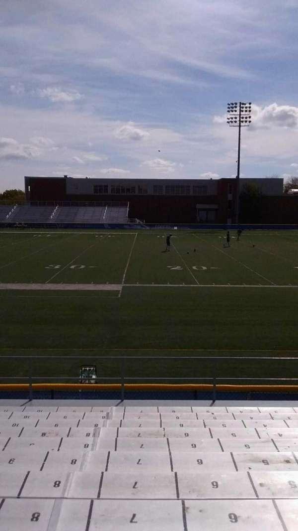 Cope Stadium, Abschnitt: A, Reihe: 12, Platz: 7