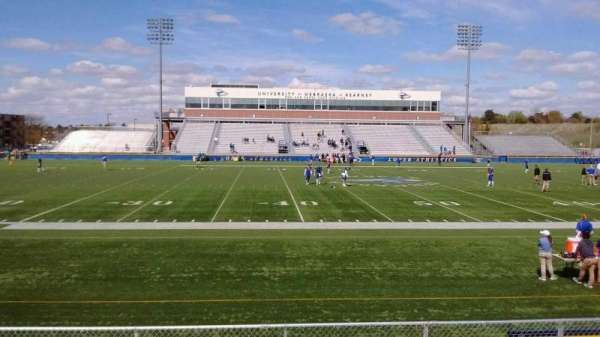 Cope Stadium, Abschnitt: GA Visitors