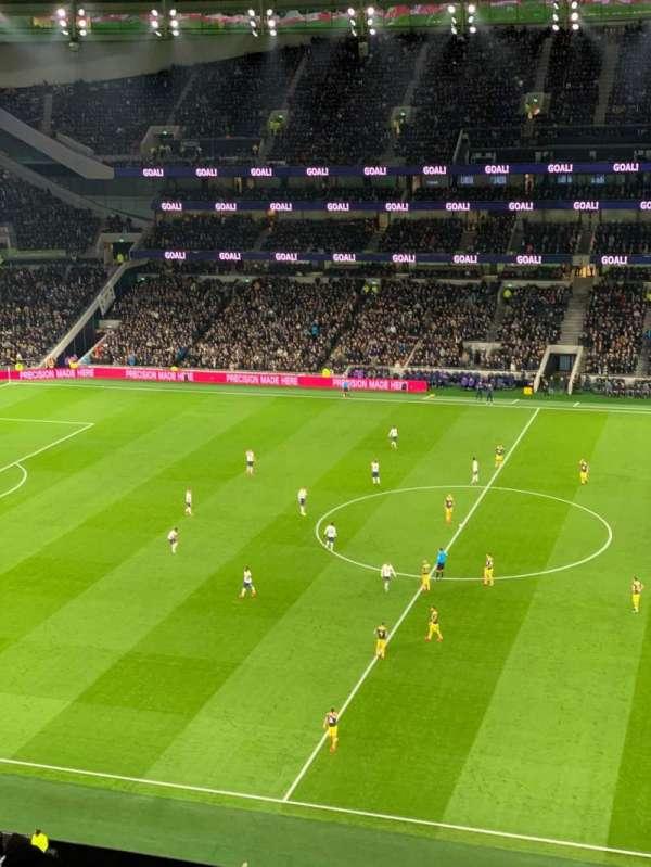 Tottenham Hotspur Stadium, Abschnitt: 525, Reihe: 12, Platz: 805