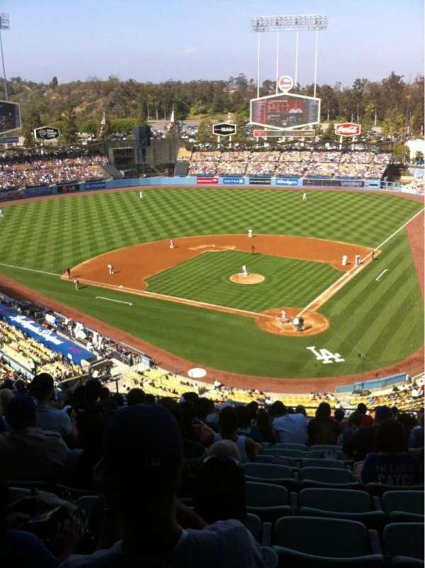 Dodger Stadium, Abschnitt: 5RS, Reihe: R, Platz: 12