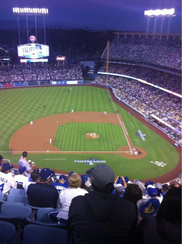 Dodger Stadium, Abschnitt: 13TD, Reihe: K, Platz: 12