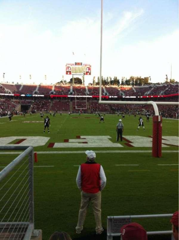 Stanford Stadium, Abschnitt: 123, Reihe: B, Platz: 21