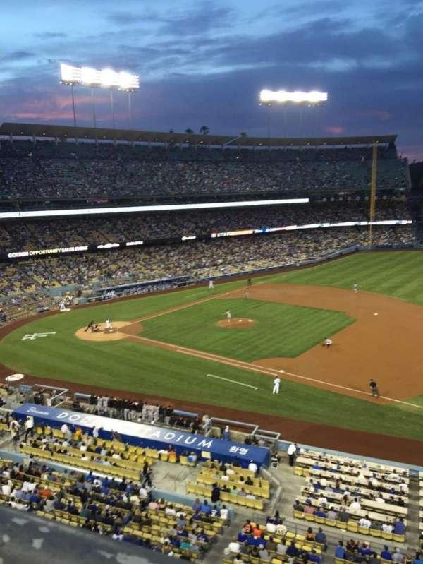 Dodger Stadium, Abschnitt: 28RS, Reihe: A, Platz: 3