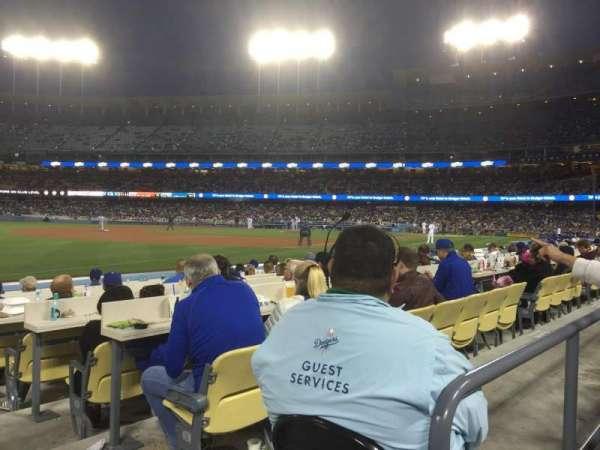 Dodger Stadium, Abschnitt: 39FD, Reihe: A, Platz: 1