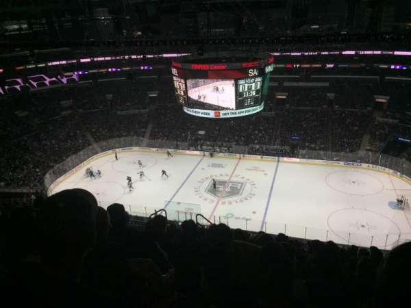 Staples Center, Abschnitt: 317, Reihe: 12, Platz: 8