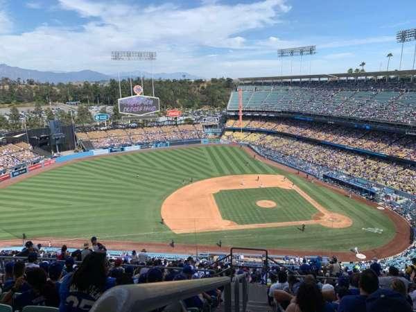 Dodger Stadium, Abschnitt: 17RS, Reihe: JJ, Platz: 23