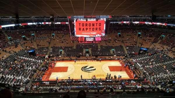 Scotiabank Arena, Abschnitt: 321, Reihe: 16, Platz: 17