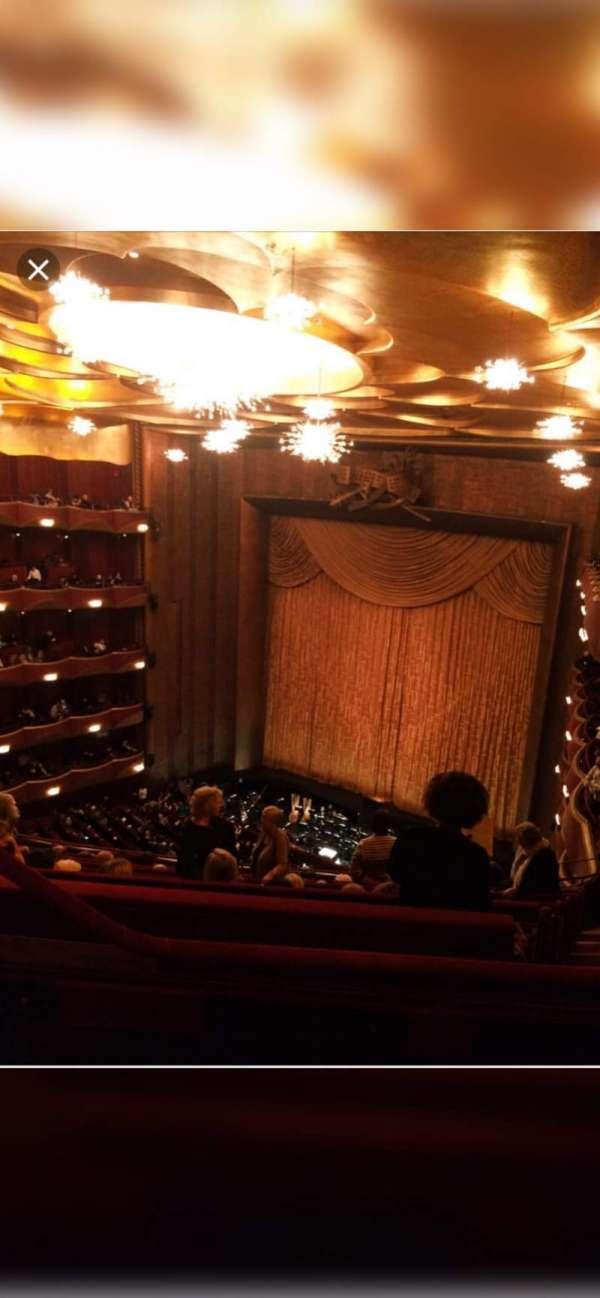 Metropolitan Opera House - Lincoln Center, Abschnitt: Balcony, Reihe: L, Platz: 5