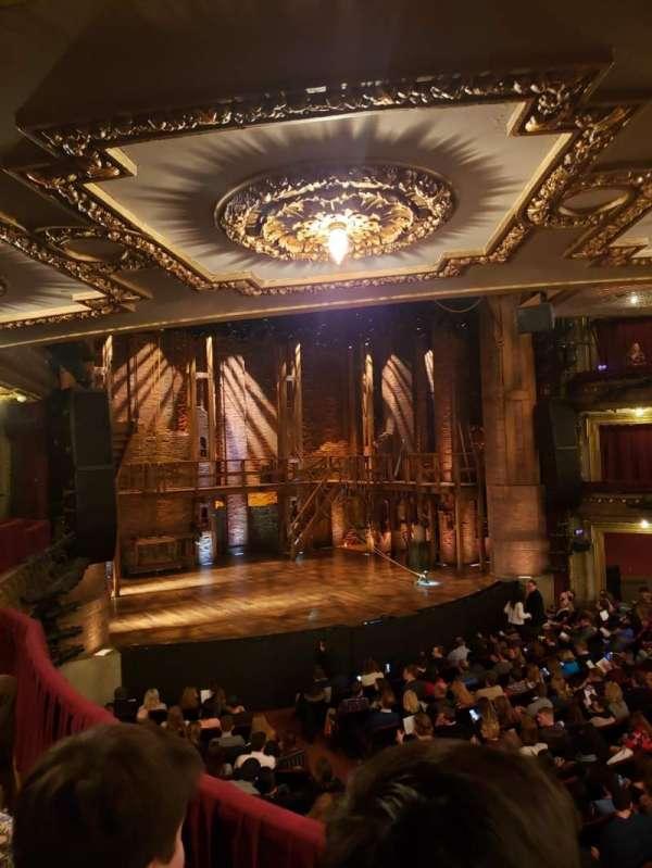 CIBC Theatre, Abschnitt: Dress Circle R, Reihe: B, Platz: 7