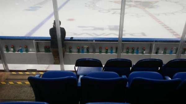 Mohegan Sun Arena at Casey Plaza, Abschnitt: 104, Reihe: F, Platz: 19