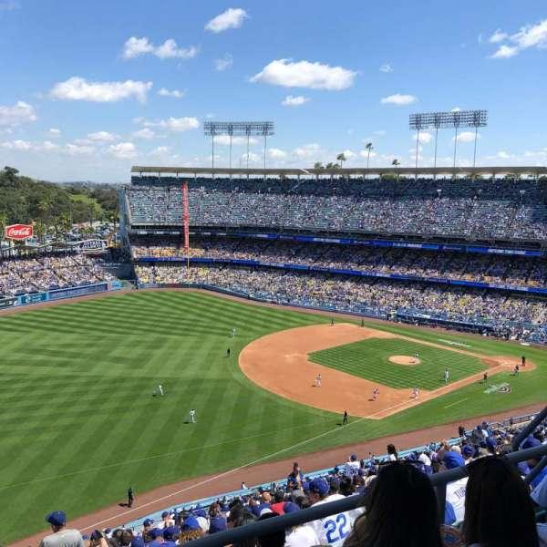 Dodger Stadium, Bereich: 41RS, Reihe: CC, Platz: 8