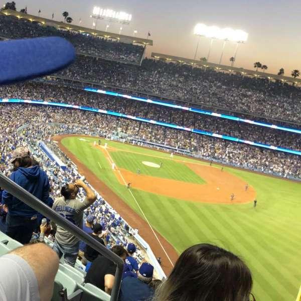 Dodger Stadium, Bereich: 56RS, Reihe: T, Platz: 2
