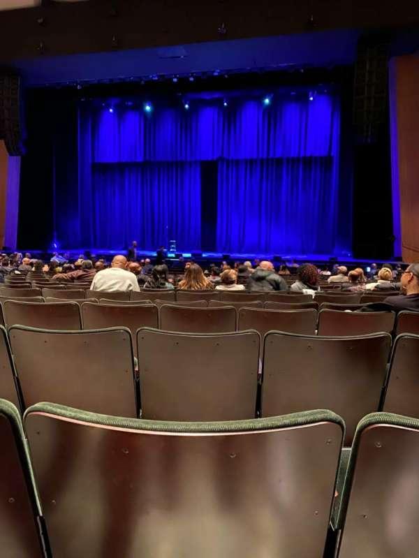 Terrace Theater, Abschnitt: ORCH, Reihe: 15, Platz: 25