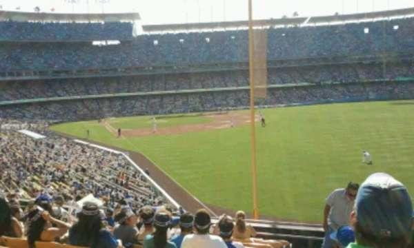 Dodger Stadium, Abschnitt: 166LG, Reihe: L, Platz: 1