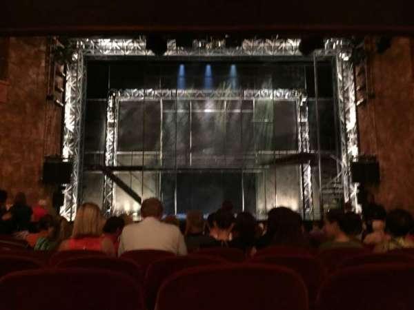 August Wilson Theatre, Abschnitt: Orchestra Center, Reihe: R, Platz: 108